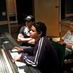 La mezcla en el EGREM   Yusef DIAZ ,Jose Luis VARONA, Vincent LAFFAIRE